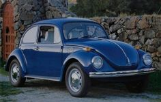 1971 Volkswagen Super Beetle (My first brand new car, loved it!! Deb)
