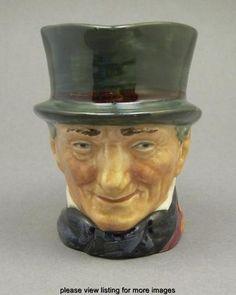 Vintage Pottery Royal Doulton John Peel Character Porcelain Toby Jug A Mark   eBay
