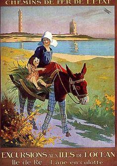 Ile de Re by Rene Pean (1930)
