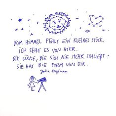 Et, Anja Kraemer - - dessin Poetry Quotes, Book Quotes, Slam Poetry, S Quote, More Than Words, Romantic Quotes, Quote Prints, Grief, Slogan