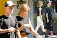 Selena cutting with Justin