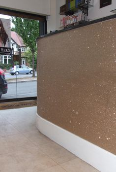 Glitter Wallpaper - I WILL have this in Pink!!!