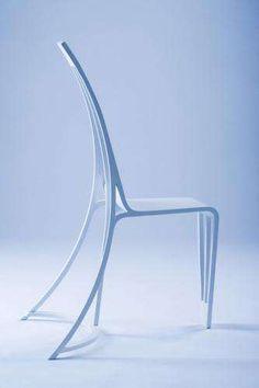 Stripped Down Seating : Katakana Occasional Chair