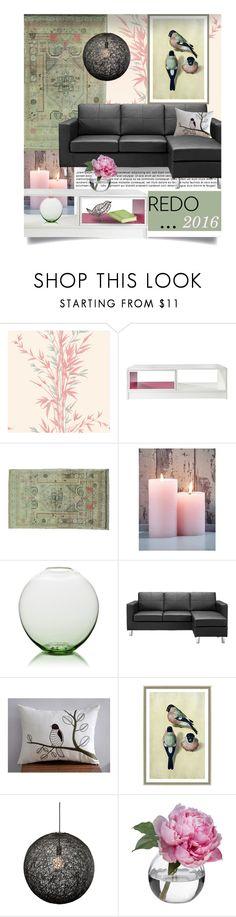 """redo 2016"" by tiffanysblues ❤ liked on Polyvore featuring interior, interiors, interior design, home, home decor, interior decorating, Cole & Son, Lobmeyr, Dorel Asia and Soicher Marin"