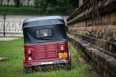 Trishaw parked at a temple, Kandy, Sri Lanka The Atlas, Tour Operator, Kandi, Maldives, Sri Lanka, Bliss, Temple, Park, The Maldives