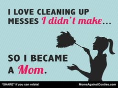 """""""PIN"""" if you can relate! What are your top mommy cleaning tricks?"""