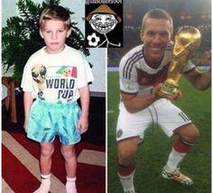 Coupe du monde 2014 : Lukas Podolski, croyons en nos rêves