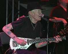 Concierto. Johnny Winter. Lugar: Sala Marco Aldany (Arena). C/ Princesa, 1. Madrid