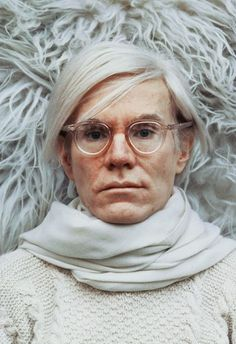 "stolen-future: "" Andy Warhol by Ewa Rudling """