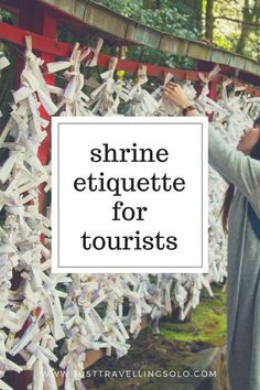 Shrine Etiquettes for Tourists in Japan