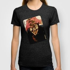 Joker HAHAHA T-shirt by DeMoose - $22.00