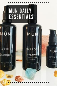MUN skincare is one of my favorite skincare lines and they have been for a while. I think it