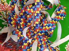 A personal favorite from my Etsy shop https://www.etsy.com/listing/503224322/autism-awareness-puzzle-fold-over