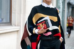 32 Street-Style-Approved Ways to Throw on a Cape ThisSeason   StyleCaster