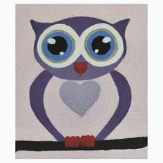 'cute owl' Kids Clothes by jemmart Framed Prints, Canvas Prints, Art Prints, Owl Kids, Cute Owl, My Canvas, To My Daughter, Duvet Covers, Greeting Cards