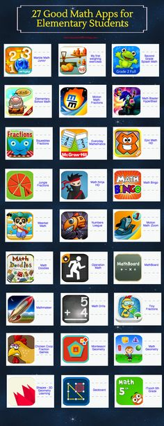 27 Good Math Apps for Elementary Students