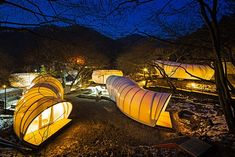 """Luxurious Korean Tent Pods Expand the World of """"Glamorous Camping"""" - My Modern Met"""