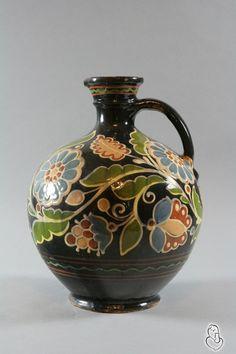 Ceramic, painted by Parasca Bilyak, Ukraine, from Iryna with love