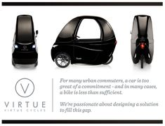 Here's the Virtue Bike Pedalist, a semi-enclosed electric cargo trike with a 750W electric motor & 48v 32A lithium battery. Weather protection and ~50 miles of range!