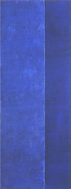 Onement V, 1952 - Barnett Newman