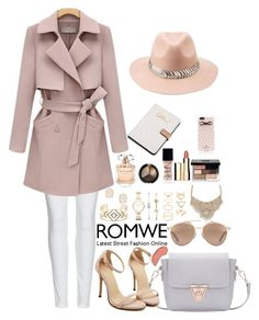 """""""Romwe 1"""" by amra-f ❤ liked on Polyvore featuring Calvin Klein, Burberry, Christian Dior, Stella & Dot, FOSSIL, Kendra Scott, Forever 21, Bebe, Elie Saab and NYX"""