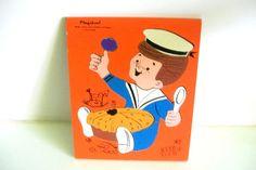 Vintage Playskool Wooden Puzzle  Jack by 4EnvisioningVintage, $15.35