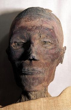 Mummy of Ramesses IXRamesses IX was probably a grandson of Ramesses III. He ruled for nineteen years approximately, died at the age of 50 and was succeeded by Ramesses X. He was buried in tomb Ancient Symbols, Ancient Aliens, Ancient Egypt, Ancient History, Egyptian Mummies, Egyptian Art, Mummified Body, Egypt Mummy, Egypt Museum