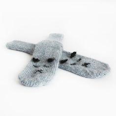 Cozy kids socks from alpaca wool Color: 9021 fog