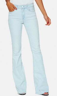 Exclusive to LuckyShops, these high-rise flares in pale blue wash are named for our digital editorial director Verena von Pfetten, and take a cue from her seventies-inspired style, too.