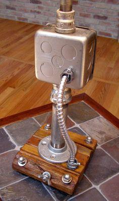 Tremendous Very Unique Bed Pan Urinal Lamp Steam Punk Ebay Steampunk Stuff Wiring Digital Resources Skatpmognl