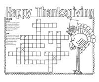 This easy Thanksgiving craft is the perfect way to keep the kids' hands on their markers and crayons instead of in the bread basket before dinner. Thanksgiving History, Thanksgiving Placemats, Thanksgiving Coloring Pages, Thanksgiving Crafts For Kids, Thanksgiving Activities, Thanksgiving Decorations, Fall Crafts, Kids Crafts, Hidden Pictures Printables