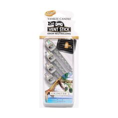 Neutralise odours and enjoy great, true-to-life Yankee Candle fragrances with vent sticks. Use vent sticks in any vehicle air vent and fill the air with authentic Yankee fragrance. Each vent stick provides continuous fragrance for up to two week Scented Candles, Candle Jars, Candle Holders, Yankee Candle Car, Yankee Candles, My Yankees, Rv Parts And Accessories, Fragrance Online, Candle Snuffer
