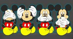 Ideas For Quotes Disney Mickey Mice Mickey Mouse Kunst, Minnie Mouse, Mickey Mouse And Friends, Disney Kunst, Arte Disney, Disney Art, Mickey Mouse Wallpaper Iphone, Disney Wallpaper, Princesas Disney Dark
