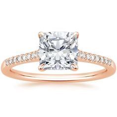 14K Rose Gold Lissome Diamond Ring from Brilliant Earth