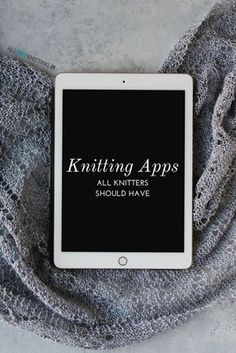 9 knitting apps that all knitters should have - Knitting Techniques Knitting Basics, Knitting Help, Knitting For Beginners, Knitting Socks, Knitting Needles, Knitting Projects, Baby Knitting, Knitting Patterns, Knitting Tutorials