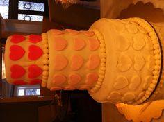 Chloe's 1 Month - first fondant cake
