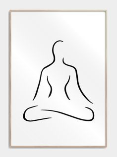 One line drawing posters One Line Tattoo, Line Tattoos, Minimalist Drawing, Minimalist Art, Abstract Drawings, Easy Drawings, Continuous Line Tattoo, Yoga Symbols, Line Artwork