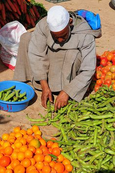 first broad beans of the year, Taroudant, Morocco.  Photo: luca.gargano, via Flickr