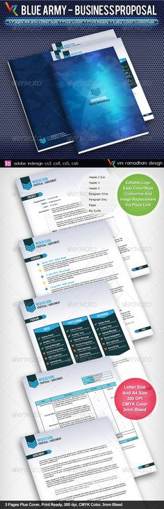 Gold Business Proposal  Business Proposal Indesign Templates And