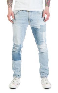 Nudie Jeans Lean Dean Indigo Strip