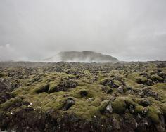 Ísland II by Peter Zeglis, via Behance