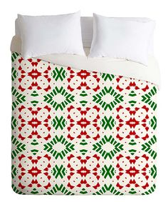 Lisa Argyropoulos Holiday At The Lodge Fleece Duvet Cover #zulily #zulilyfinds