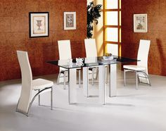 Italian Glass Tables And Chairs
