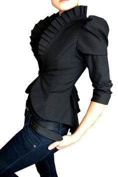 little black jacket...wow!