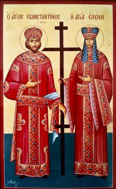 St. Helen & St. Constantine by Stelios Stelios of Cyprus