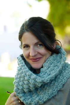 Another cowl pattern, free crochet