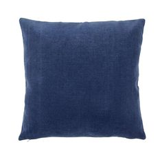 Featuring a plush, velour textured feel, this square cushion comes in deep indigo blue, complete with a plump and durable hollowfibre filling and machine washable, removable cover. Blush Cushions, Velour Fabric, Soft Furnishings, Bedroom Decor, Plush, Colours, Throw Pillows, Indigo Blue, Design