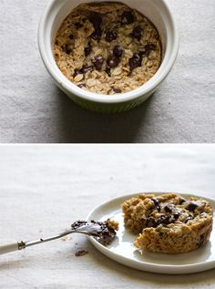 edible perspective - Home - single-serving deep dish chocolate chip cookie [vegan +gluten-free]chewy, gooey, sticky oatmeal chocolate chip cookie texture.      The oatmeal cookie of my dreams.  The best gluten-free cookie I've ever eaten.  Not to mention vegan, single-serving, and can be made in 1 bowl with 1 fork using minimal ingredients in about 3 minutes.  The most non-fuss cookie ever.