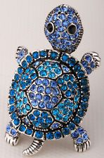 Shaky turtle stretch ring cute animal bling scarf jewelry gifts 1 dropshipping