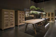 #Arclinea #Eurocucina2016 #Convivium #PVD #stainlesssteel #AntonioCitterio #luxurykitchen #madeinitaly #design #kitchendesign #interiordesign #luxurydesign #luxe #NTF #architecture